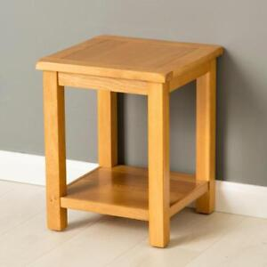 Poldark Oak Lamp Table Light Oak Small Side Table Small Oak