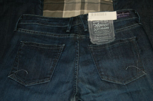 curvy Sz Stretch 27 Doga Bnwt Sea Denim taglio Dea da gamba in all'Agave Stivaletto qFwPXMvFK