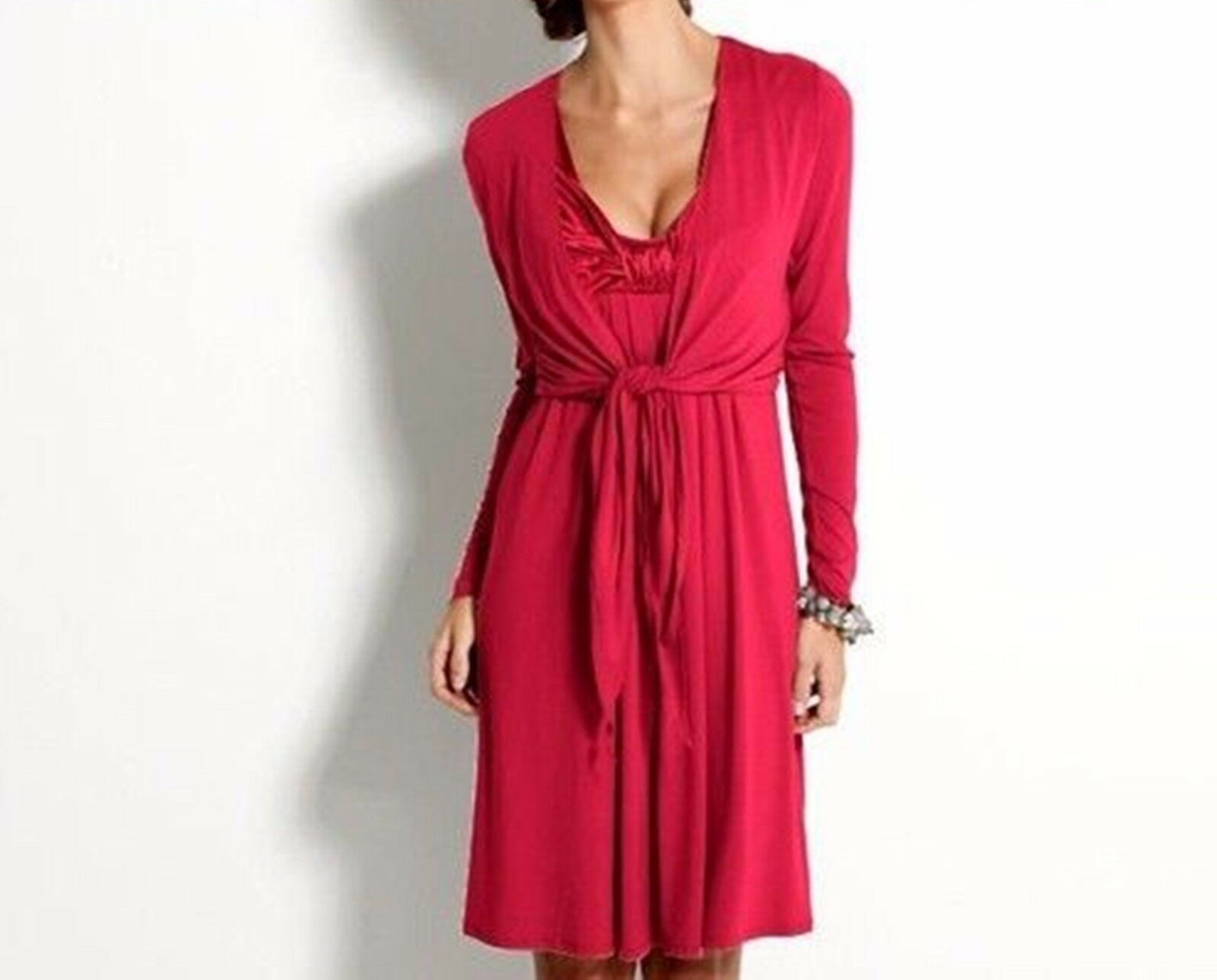 Kleid Abendkleid mit Bolero Rot von Heine Größe 36 Party Kleid Damen