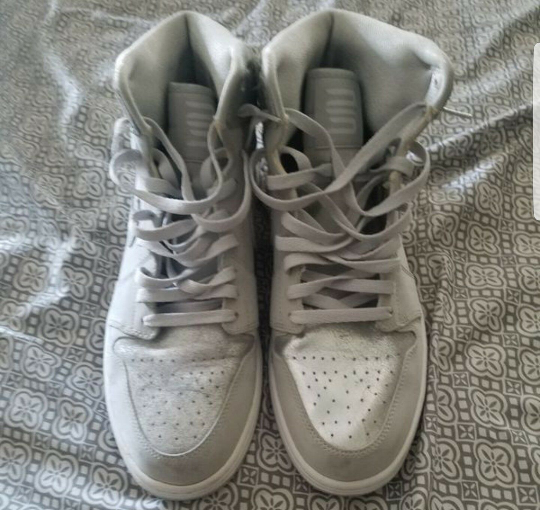 Nike air jordan 1 high Og Silver Anniversary sz 13