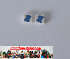 Lego® 2X Harry Potter Fliese Tile 1X2 bedruckt mit Buch 3070px8 aus 4709, 4756