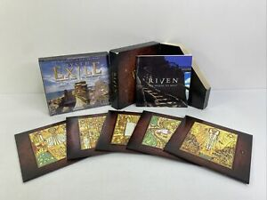 Riven The Sequel to Myst & Myst iii 3 Exile Windows 95 Mac 2x Game Lot VGC