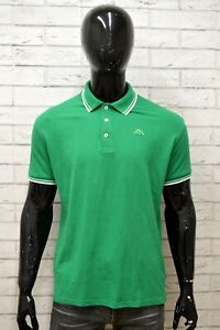 Polo-KAPPA-Uomo-Taglia-XXL-Maglia-Maglietta-Camicia-Shirt-Man-Manica-Corta-Verde