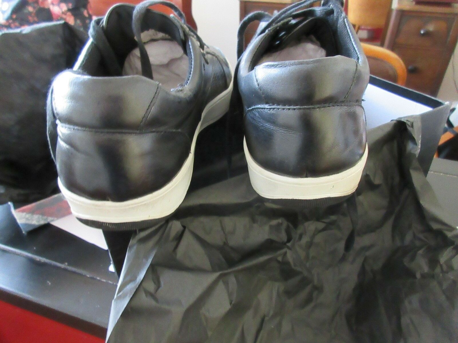 English Laundry Men's Slam Fashion Sneaker , Size 10 ,