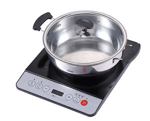 New Midea 1500w Induction Cooktop Cooker With Stainless