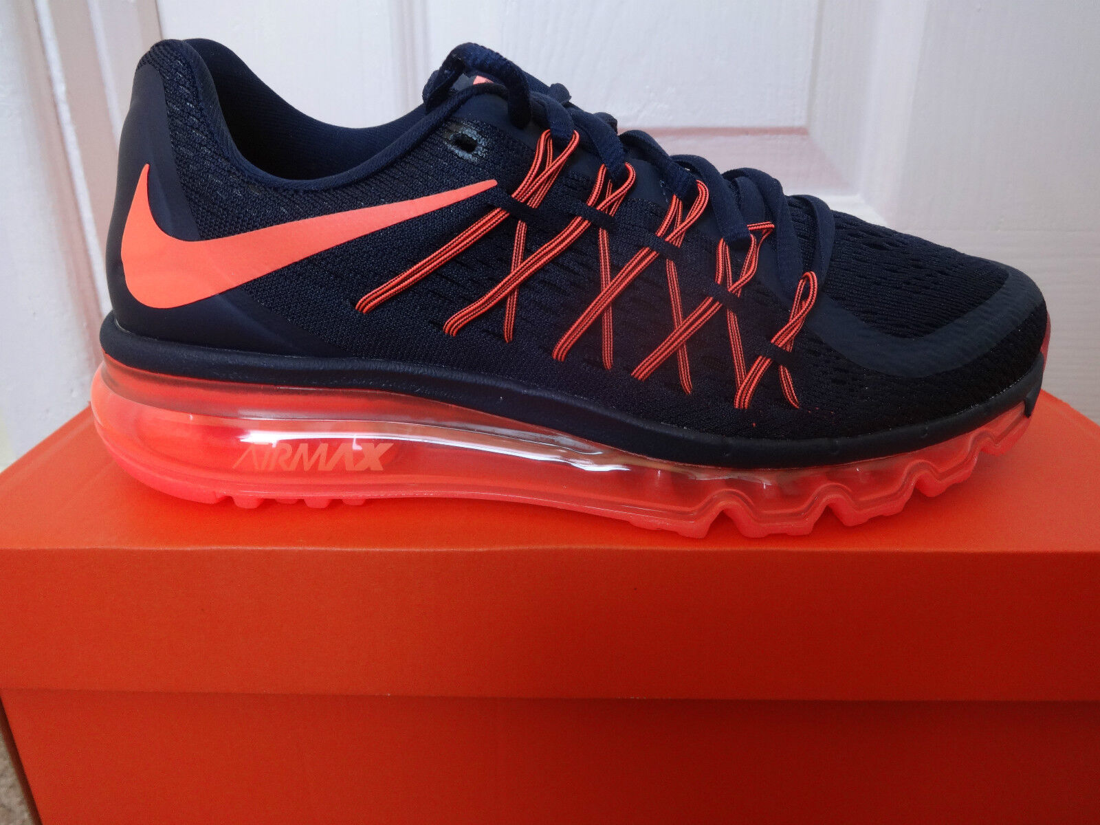 Nike Air Max 2015 Wmns Baskets Baskets 698903 408 UK 5 EU 38.5 US 7.5 Neuf + Boîte