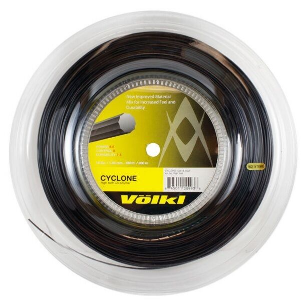 Volkl Cyclone Tennis String 200m Reel -Available in different colours and gauges