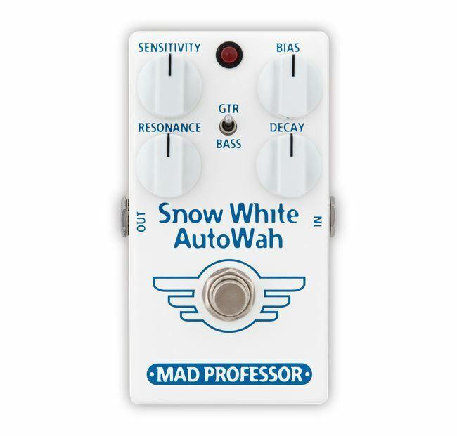 Mad Professor Snow Weiß Auto Wah Pedal