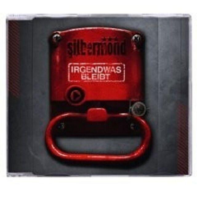 """SILBERMOND """"IRGENDWAS BLEIBT"""" CD SINGLE MIT VIDEO NEW!"""