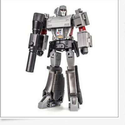 New Newage NA H9-EX Agamenmnon mini G1 Megatron Metallic Ver Action figure
