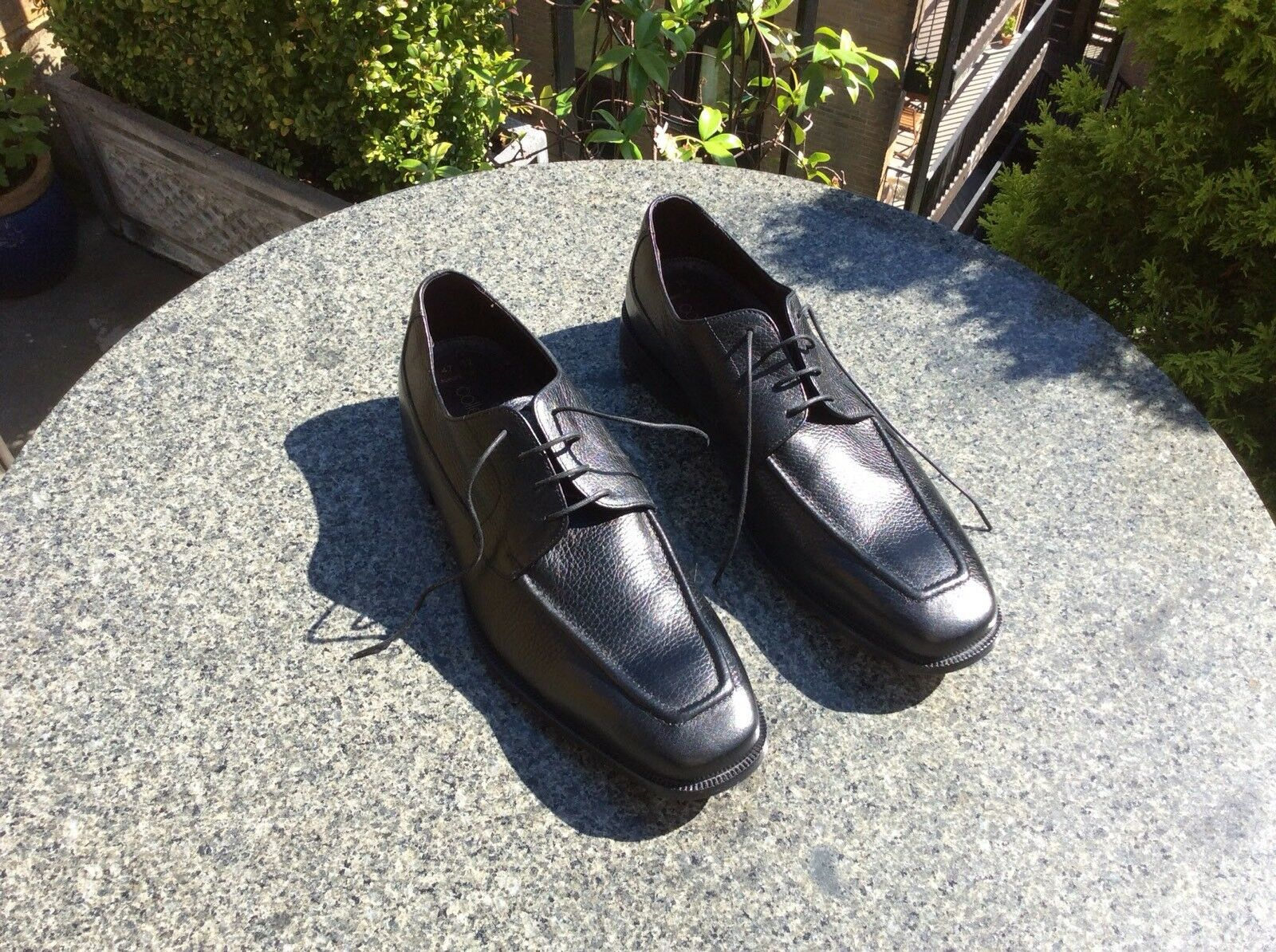 Marks & Spencer, Collezione, Black Leather shoes, Size 12