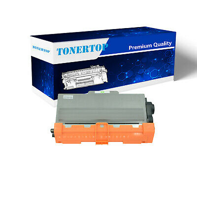 4PK High Yield Black TN-750 For Brother TN750 Toner Cartridge HL-5470DW 6180DW