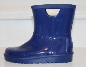 UGG-Australia-RAHJEE-Rain-Boots-Toddler-Kids-Boys-Girls-Navy-Blue-MSRP-50-NEW