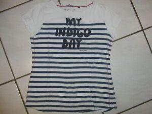 d05519e33afc44 Das Bild wird geladen MARC-O-POLO-T-Shirt-weiss-blau-Gr-
