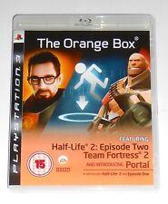 Half-Life 2 Orange Box COMPLETE PlayStation 3 PS3