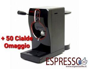 KIMBO Grimac Macchina da caffè cialde 44mm TUBE Colore Nera + 50 Cialde OMAGGIO