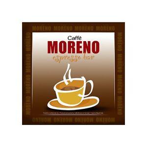 600 Cialde filtrocarta 44mm ESE Caffè Moreno DEK espresso