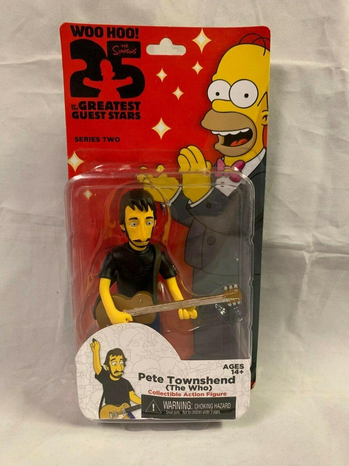 NECA Simpsons 25 Greatest Guest Stars Pete Townshend NIP