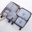 7 pièces Organisateur Set Valise bagages Sacs de stockage emballage Voyage Cubes UK
