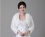 White-Ivory-Faux-Fur-Bridal-Bolero-Shawl-Coat-Jacket-Cape-Shrug-Wrap-For-Wedding thumbnail 60