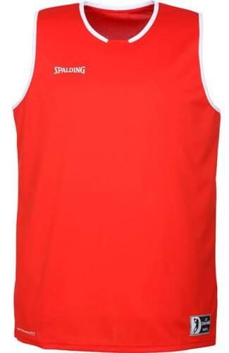 Spalding Move Tank Top Basketball rot-weiß NEU 80860