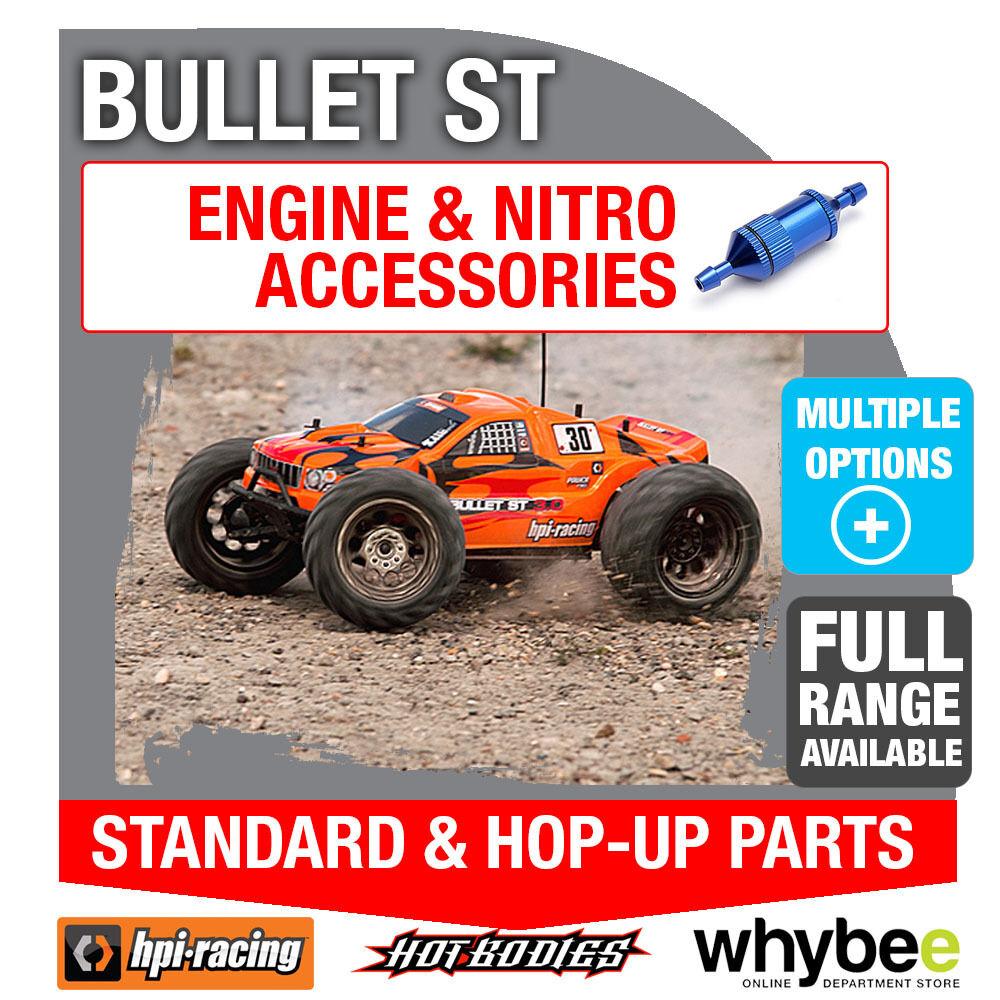 HPI Bullet ST [ tous véritable les éléHommes ts moteurs ] véritable tous HPI RACING R / C standard & hop-up pièces! b8748a