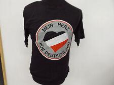 """T-Shirt """"Mein Herz für Deutschland"""" Deutsches Reich schwarz-weiß-rot  Gr:XXL=56"""