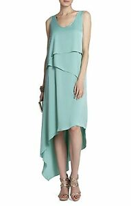 NEW-BCBG-MAX-AZRIA-LT-AQUA-REESE-DRAPED-TANK-JUF6W066-L47-DRESS-SIZE-XS