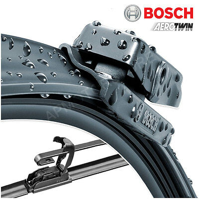 "21"" / 20"" Bosch Aero Twin Windscreen Wiper Blades Front Pair Flat QF2"
