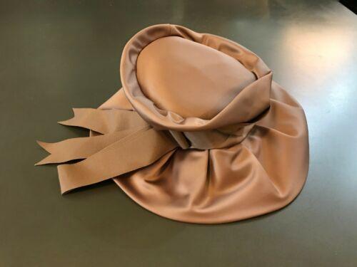 Beautiful Dark Dusty Rose Satin Hat