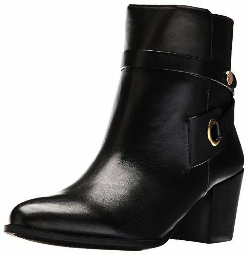 Anne Klein Womens Globalist Leather Ankle Bootie- Pick SZ/Color.