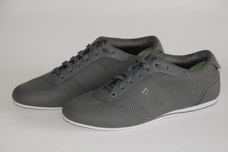 Hugo Boss AIR, Green Sneaker, mod. LIGHT AIR, Boss Tg. 39//US 6, Dark Grey b92123
