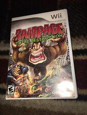 Rampage Total Destruction Nintendo Wii 2006 For Sale Online Ebay