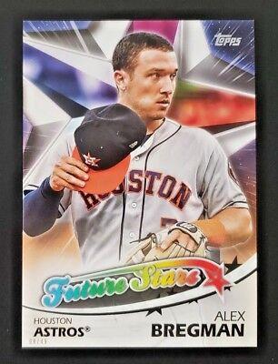 "2018 Topps Future Stars Alex Bregman 5x7"" Online Jumbo #08/49 Astros Fs-26 Moderate Cost Baseball Cards"