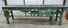 Hytrol 10 X 21 Power Roller Conveyor Section Belt Drive 230460v 3ph