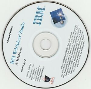 Classic-Pc-Software-IBM-Websphere-Studio-V3-5-2