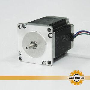 ACT-MOTOR-GmbH-1PC-Nema23-Stepper-Motor-23HS5420-51mm-2A-4Leads-0-9Nm-6-35mm