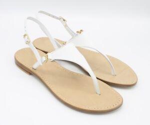 Sandali Artigianali cuoio infradito Triangolo fatti a mano moda Capri Positano