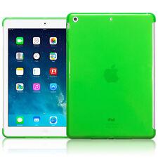 "Apple iPad Air Case High Density  Gel 9.7"" Green Cover Inc Screen Protector"