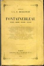Hommage à A C.F.DENECOURT.Fontainebleau.1855.Baudelaire,Sand,Nerval,Hugo,Gautier