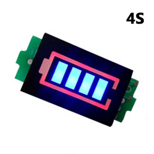 Li-ion 4 Blocks Lithium Power Module Battery Capacity Display Tester Indicator