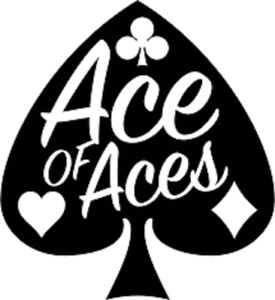Ace of Aces Vinyl Decal Car Window Sticker You Pick The Size /& Color