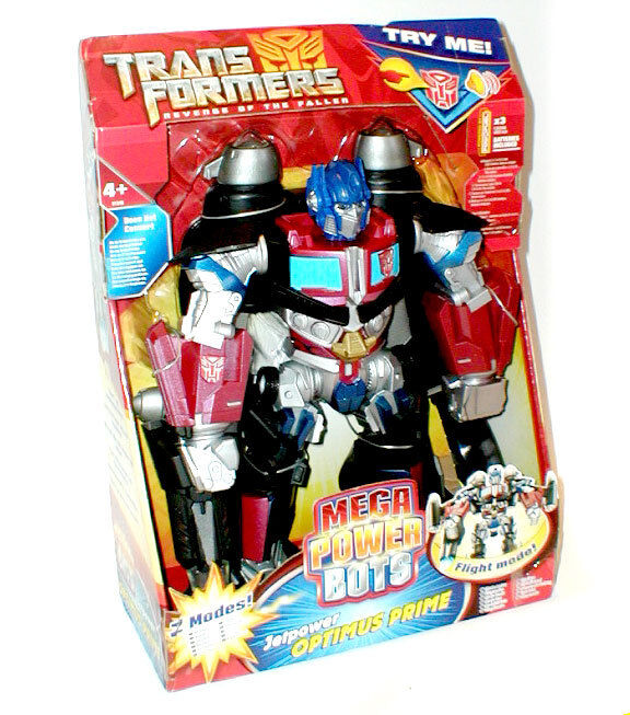 Transformers Chunky 11  Optimus Prime figure w wings & sound - Great for Kinder