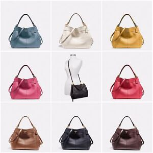 2f0b40af3e Details about New Coach F23537 F28992 Small Lexy Shoulder Bag In Pebble  Leather New With Tags
