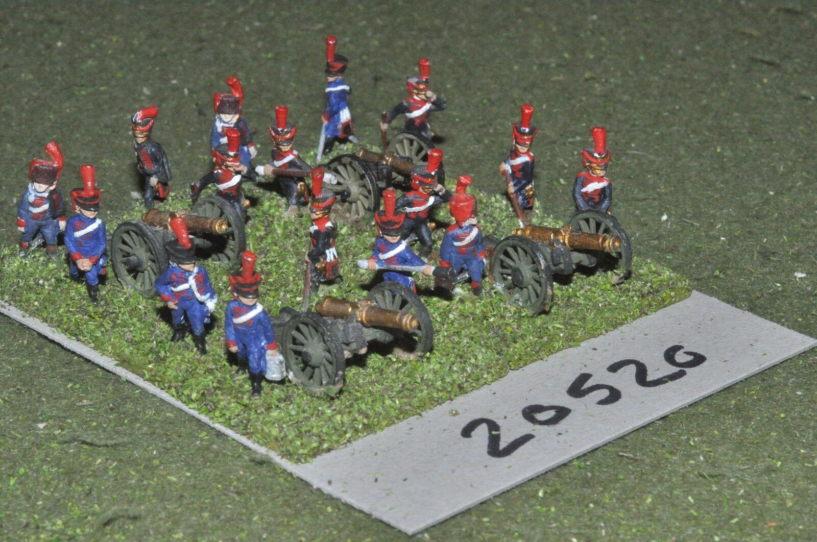 15mm napoleonic   french - artillery - art (20520)