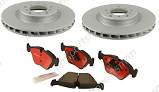 BMW E46 M3 E39 M5 Zimmerman (Rear) Brake Rotors + Brembo Brake Pads