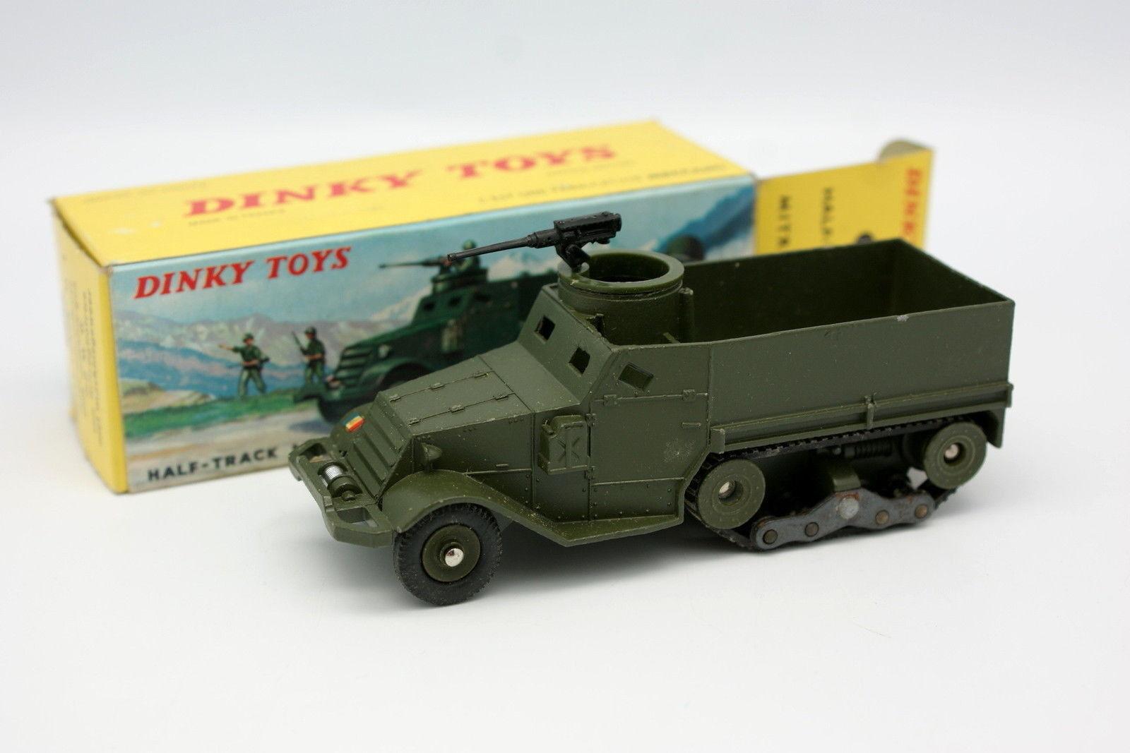 Dinky Toys F Militar 1 43 - Half Track M3 + Caja