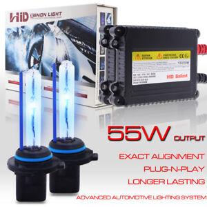 55W-Xenon-HID-Headlight-Bulb-Slim-Kit-H1-H3-H4-H7-H10-H11-H13-9005-9006-880-9007