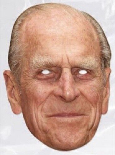 NEW IN CELLO POST WORLDWIDE PRINCE PHILIP CELEBRITY MASK