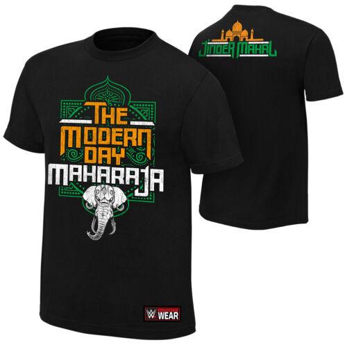 "Official WWE Jinder Mahal /""Modern Day Maharaja/"" Authentic T-Shirt"